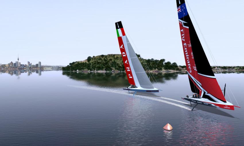 Emirates Team New Zealand Background 7