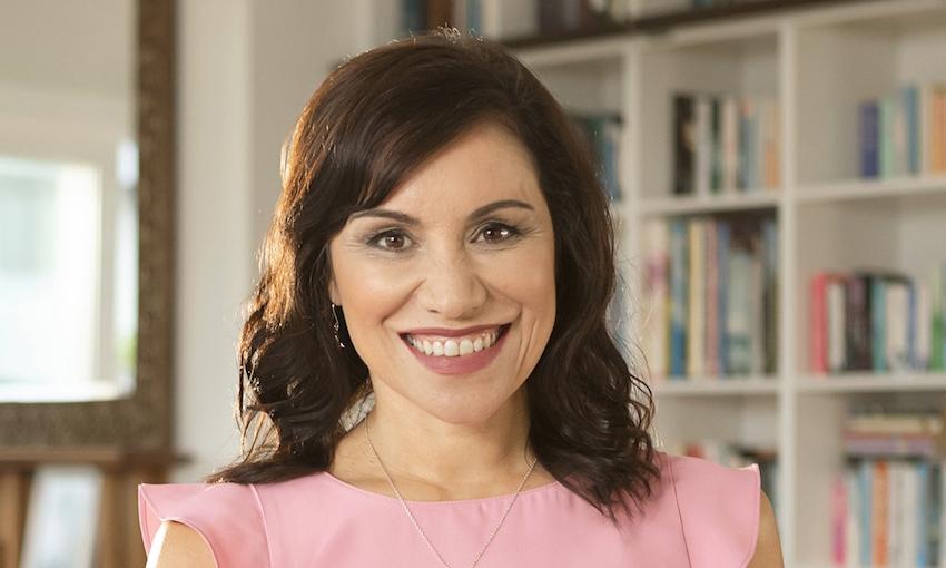 Author, broadcaster, teacher, researcher, māmā and badass, Stacey Morrison.