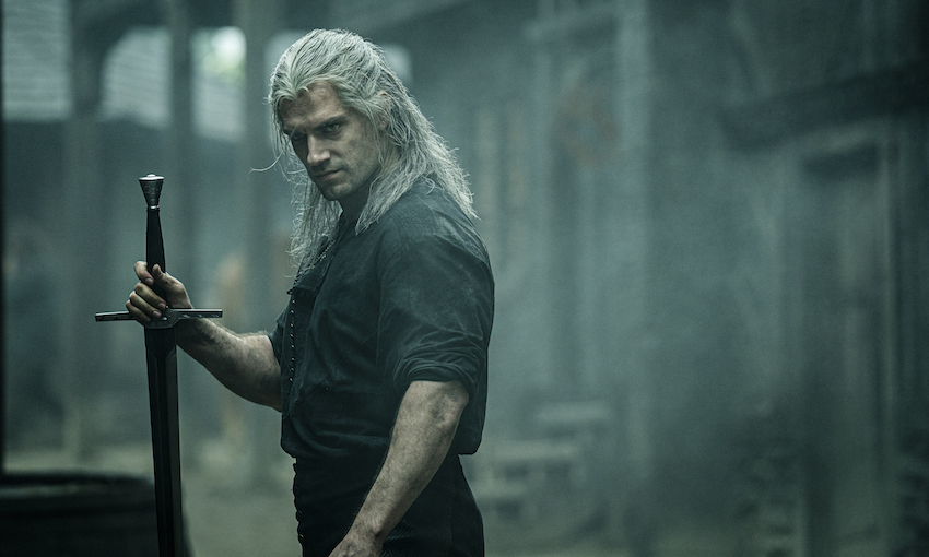 Henry Cavill starts as Geralt of Rivia in Netflix's new show The Witcher.