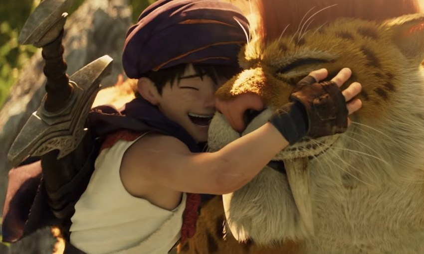 Netflix's Dragon Quest movie is a lovely journey with a stupid destination    The Spinoff