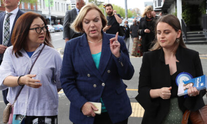 'Paranoid storms': Judith Collins' former press secretary on National, leadership and oblivion