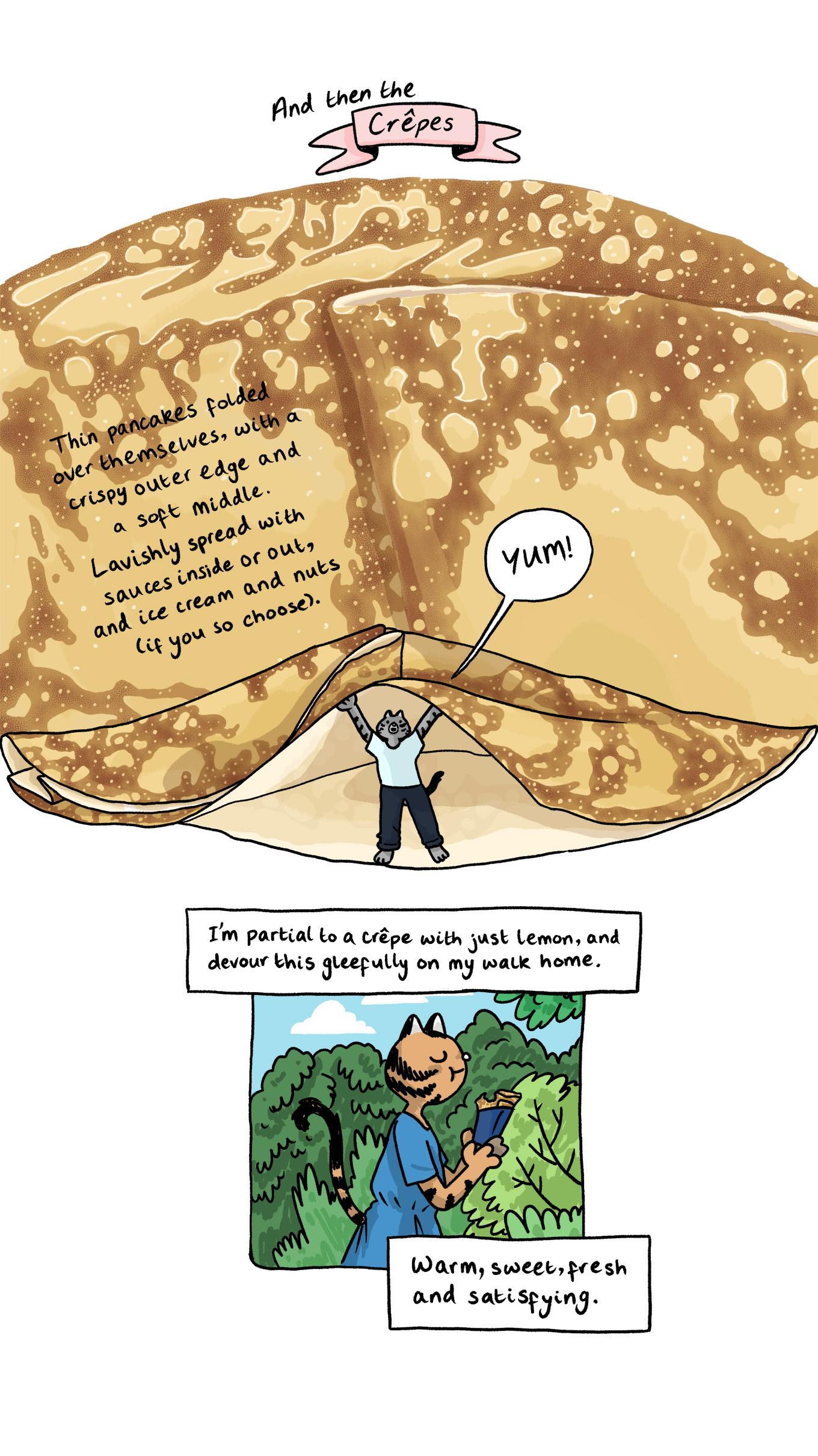 food comic