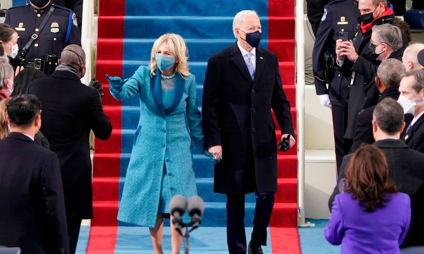 Inauguration Live: 'Democracy has prevailed' – Biden addresses nation after swearing in
