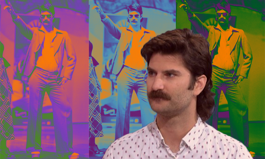 The mullet, the moustache, the myth: Joel Rindelaub is NZ's newest science celeb