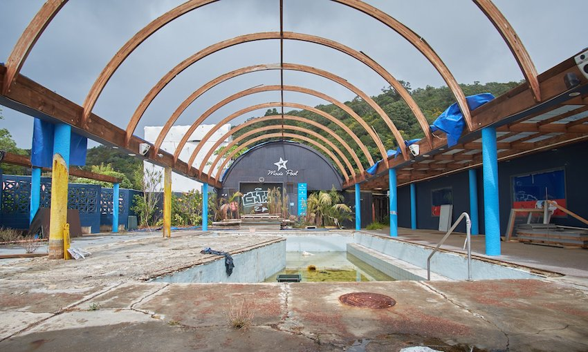 The rise and fall of New Zealand's largest water park