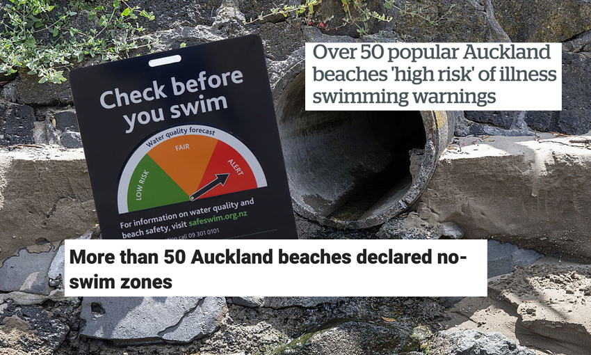 It's going to be 20 years before Auckland's shitty beach woes go away