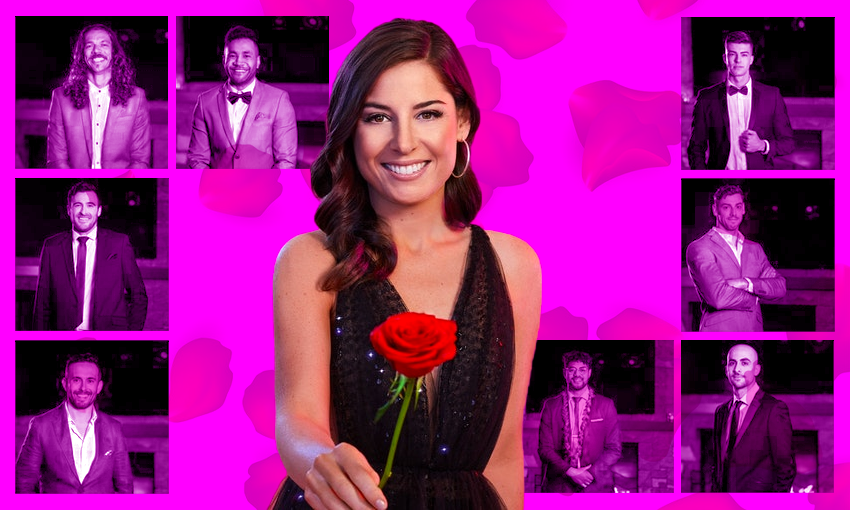 Who are the men looking for love on The Bachelorette NZ?