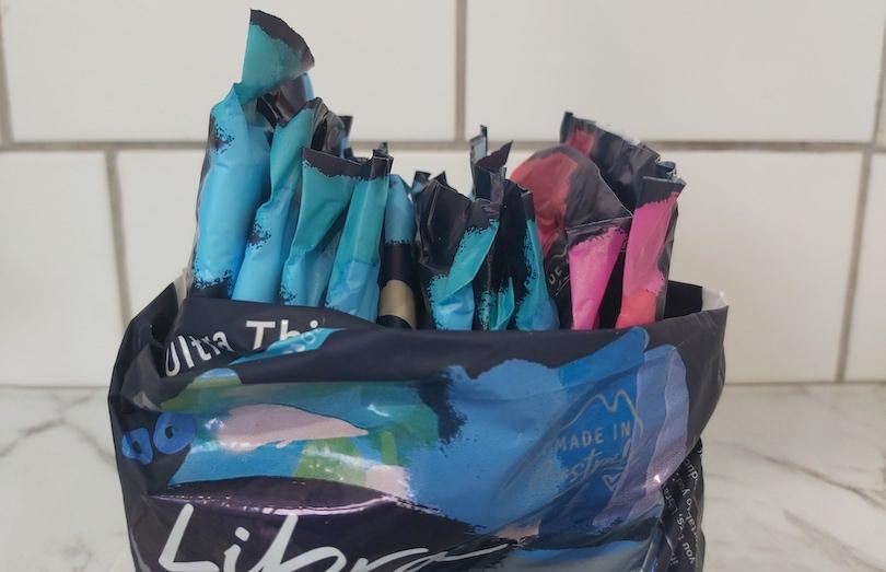 pack of libra pads
