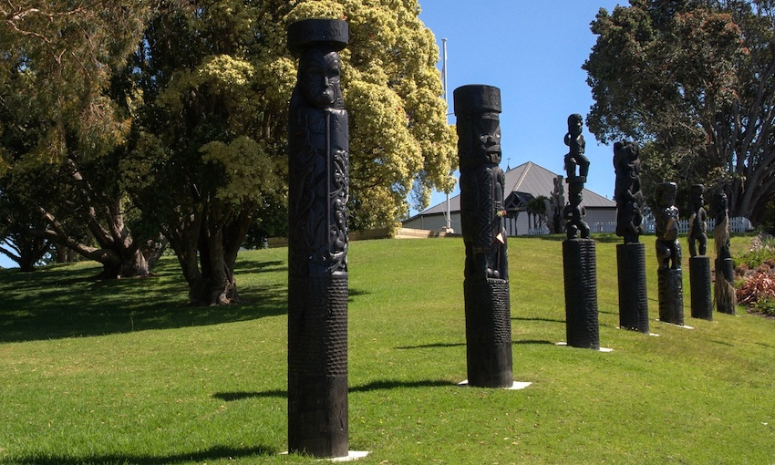The Battle of Gate Pā (Pukehinahina) memorial near Tauranga