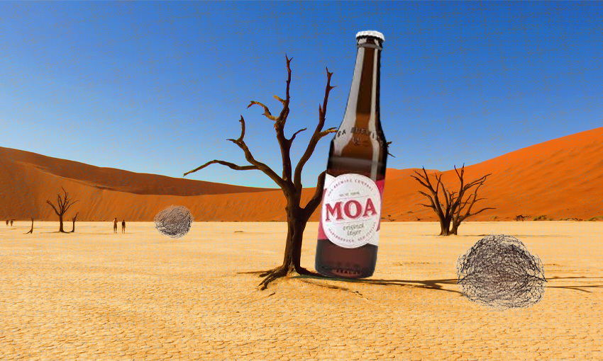How Moa's awful marketing left it stranded in craft beer no man's land