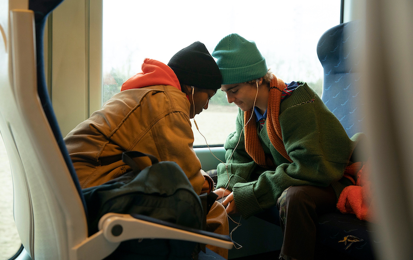 Jack Dylan Grazer and Jordan Kristine Seamón play Fraser and Caitlin/Harper, the protagonists of Luca Guadagnino's We Are Who We Are. (Photo: Supplied)