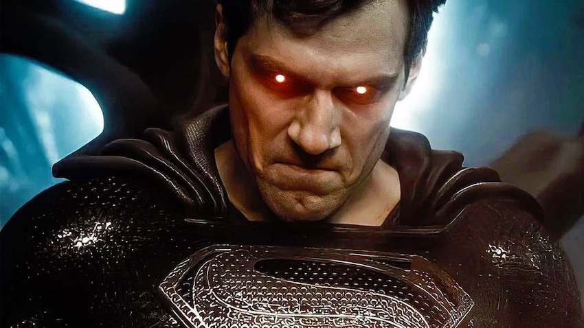 Angry, serious Superman, played by Henry Cavill. (Photo: WB)