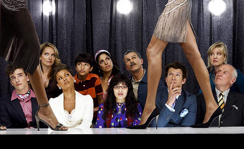 The cast of Ugly Betty.