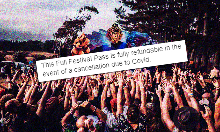 Bad vibes for spirituality festival as ticket holders refused refunds due to Covid