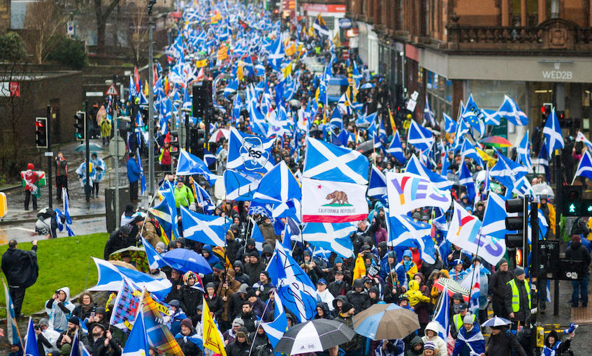 A step towards independence: Watching Scotland's election from New Zealand