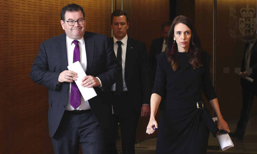 Ardern and Robertson say public sector wage freeze is 'misreporting'. But is it?
