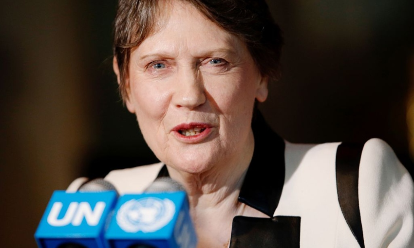 Former PM Helen Clark was a co-author of a major new report into how Covid-19 became a pandemic (Eduardo Munoz Alvarez, Getty Images)