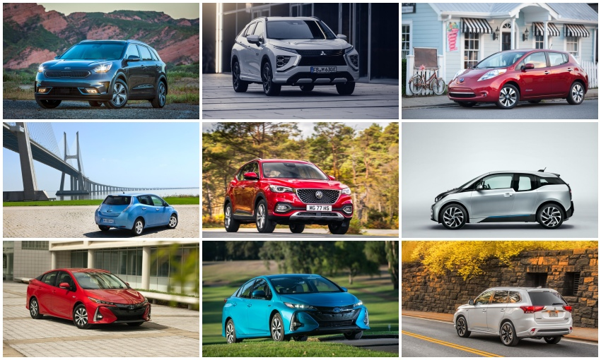 All the rebate-eligible electric vehicles for every budget