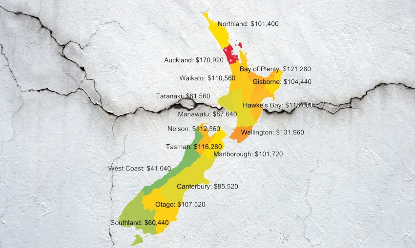 NZ's housing market is broken and we've got the maps to prove it