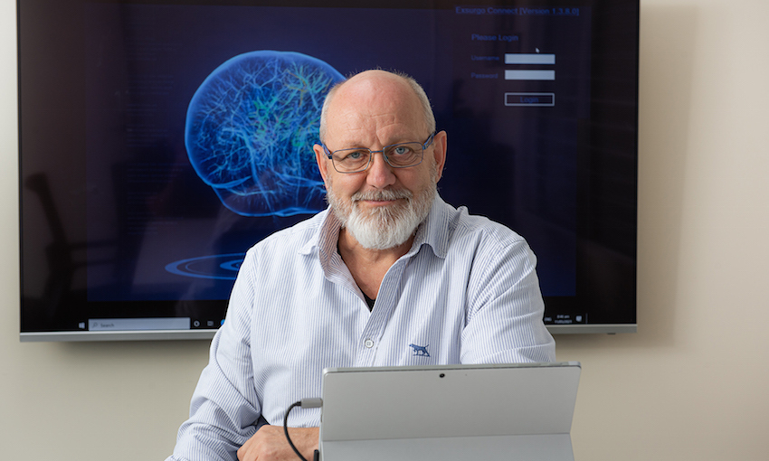 The back-shed inventor who built a pain-fighting brain machine
