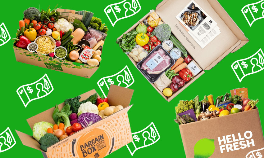 The hunt for New Zealand's best meal kit delivery service
