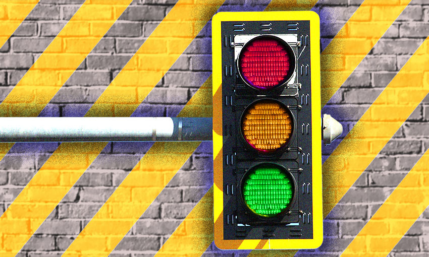 How NZ's new traffic light Covid-19 vaccine target system works