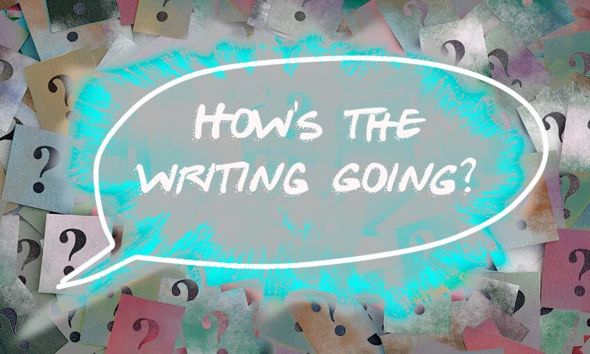 We ask locked-down writers the worst question in the world